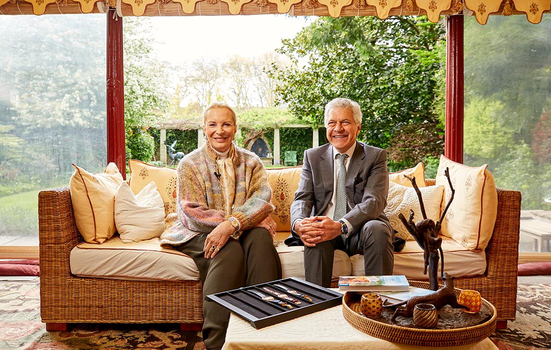 Her Royal Highness Princess Michael Of Kent and Vartkess Knadjian