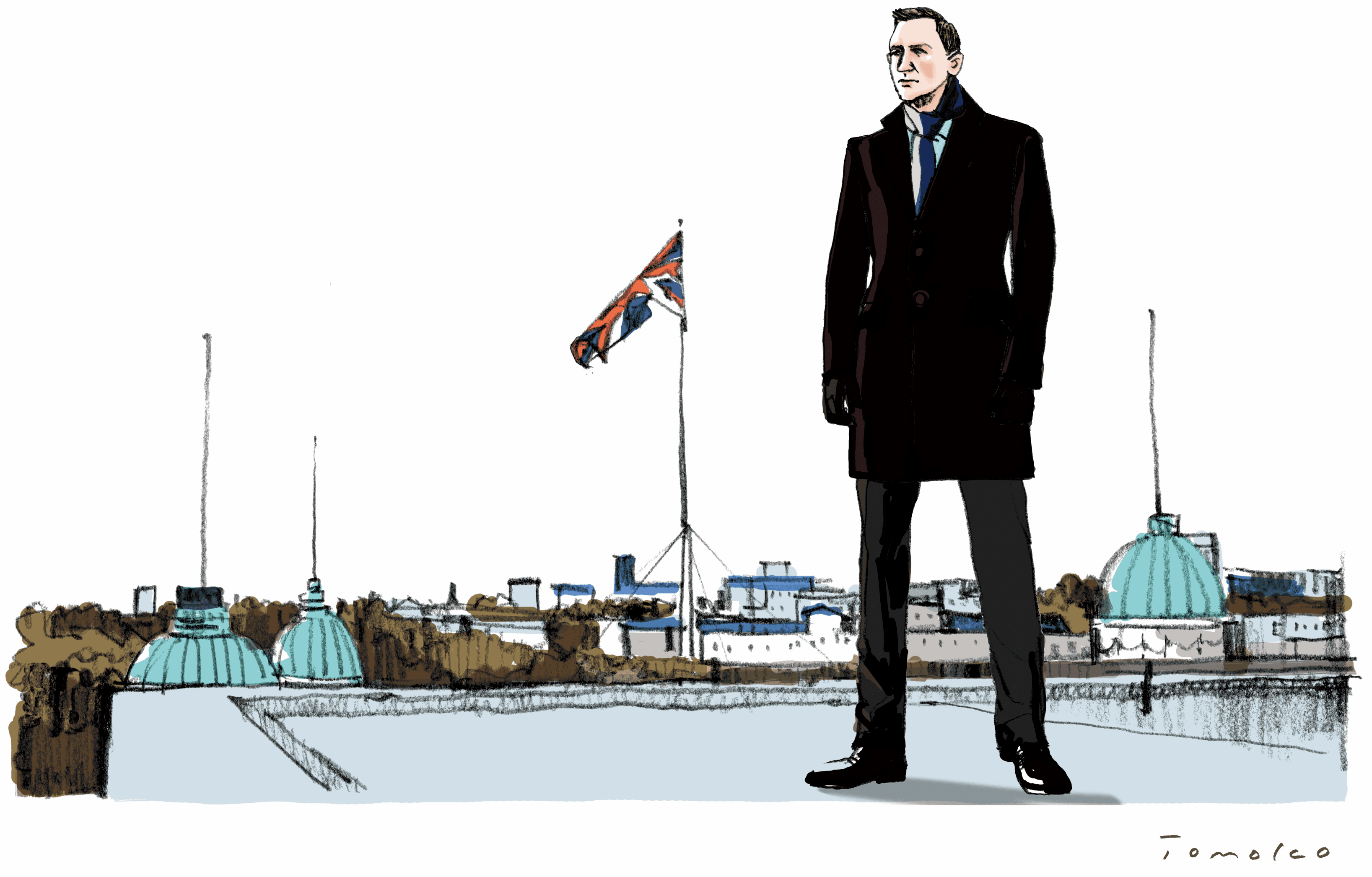Take a Walk with James Bond ジェームズ・ボンド、ゆかりの地を歩く